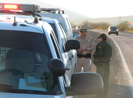Border Patrol Enforcing Traffic Laws With Pennsylvania State Police?