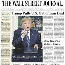 The WSJ on US War Plans Against Iran