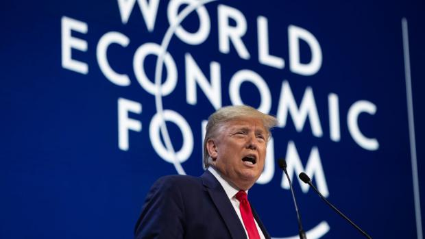 Trump Parties in Davos While Ordinary Americans Struggle to Make Ends Meet
