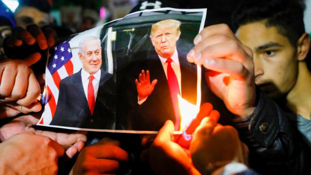 Palestinians to Trump: Their Souls and Homeland Not for Sale