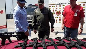 US Weapons for Coup Plotters Seized at Venezuelan Airport