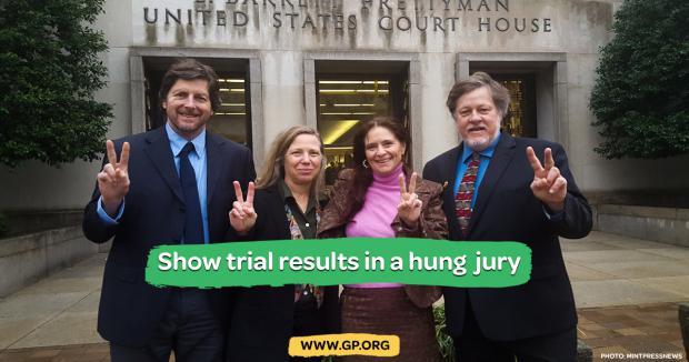 Hung Jury in US Police State Trial of Venezuelan Embassy Protectors