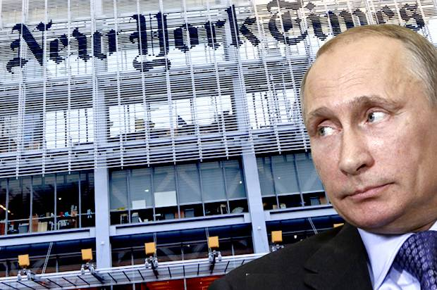 NYT Big Lies About Trump's Ties to Russia