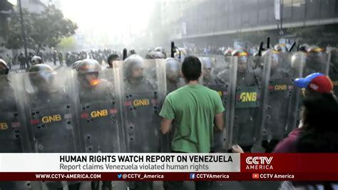 Big Lies by Human Rights Watch on Venezuela