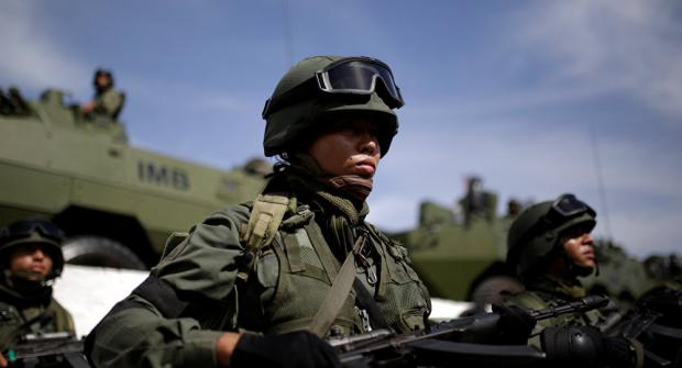 US Proxies Clash with Venezuelan Security Forces