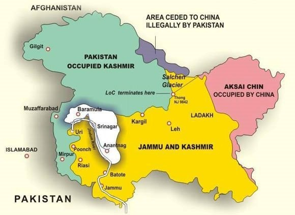 Flashpoint Along the Indo/Pakistani Line of Control in Kashmir