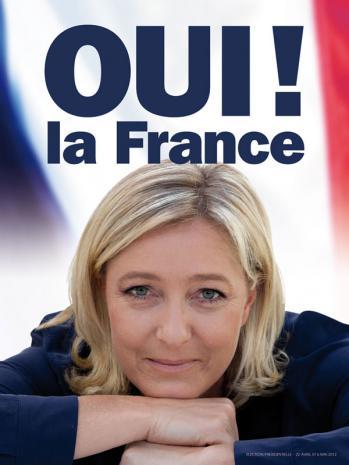 France's Le Pen Gains in Polls