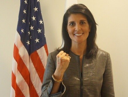 Nikki Haley Threatens Russia and Syria
