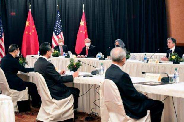Frosty Sino/US Talks in Alaska