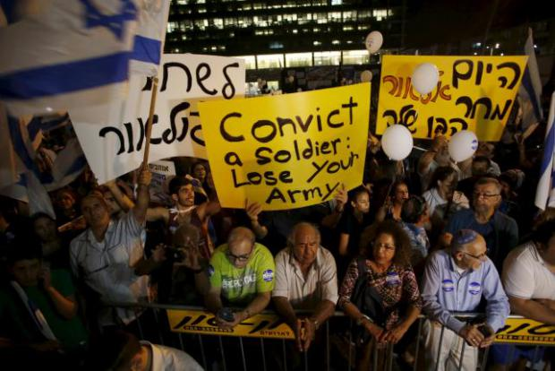 Israelis Rally for Release of Killer Soldier