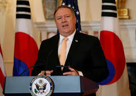 Pompeo Meeting EU Counterparts on Iran