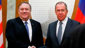 Pompeo in Sochi with Putin and Lavrov