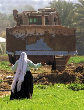 Incrementally stealing Palestinian land