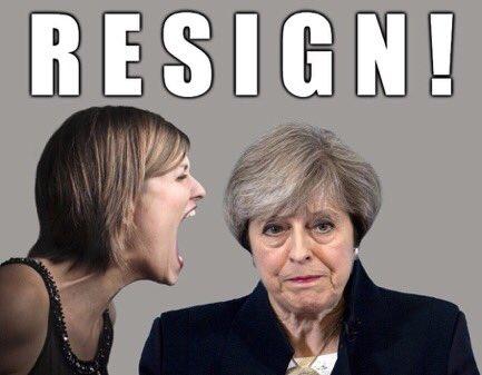 UK PM Theresa May Resigns