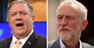 Pompeo Promises to Push Back Against Britain's Jeremy Corbyn Becoming PM