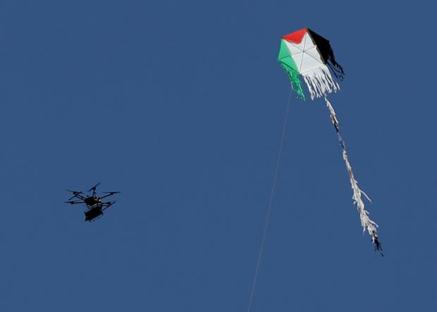 Flaming Kites v. Suffocating Siege and Terror-Bombing