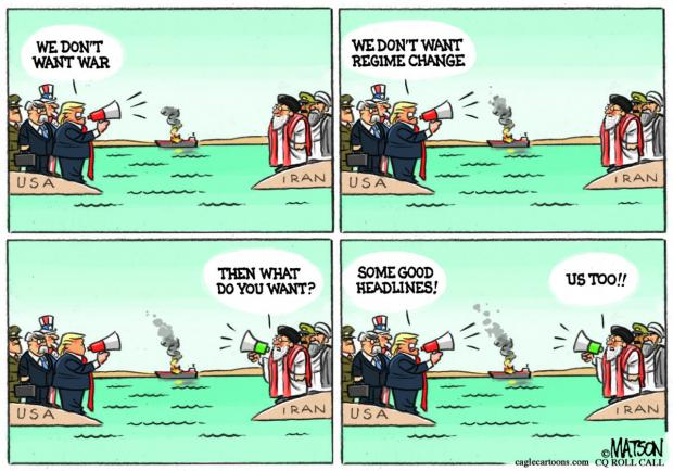 Trump Regime Orchestrated Tanker War
