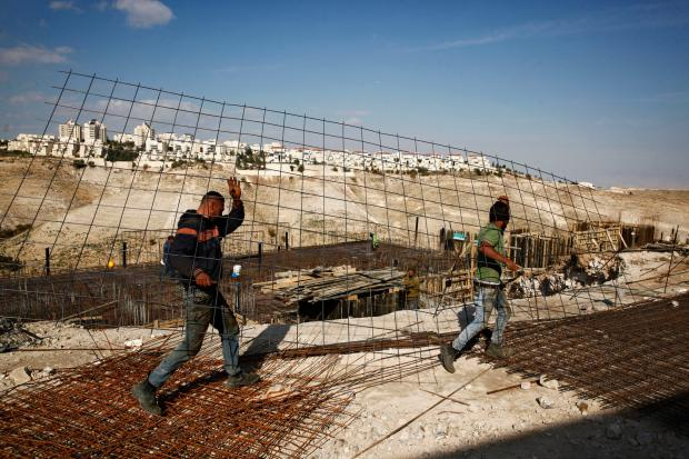 Unconstrained Illegal Israeli Settlement Construction