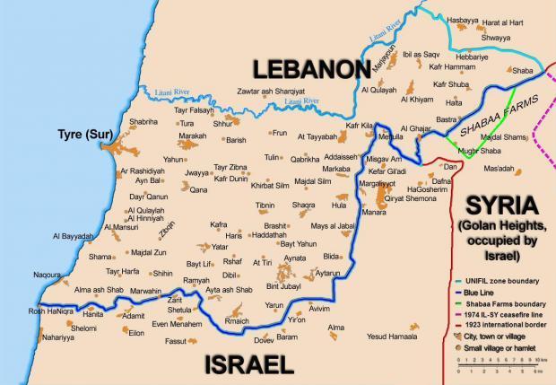 Heightened Israeli/Lebanese Tensions