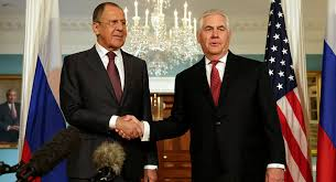 Lavrov/Tillerson Meeting at UN