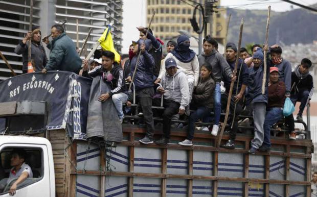 Popular Outrage Against Ecuador's Moreno