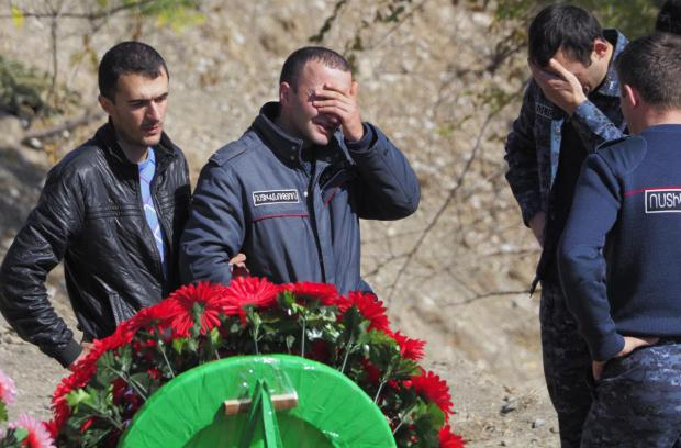 Fighting Rages After Third Announced Ceasefire in Nagorno-Karabakh