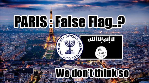 Blowback or False Flag in Paris?