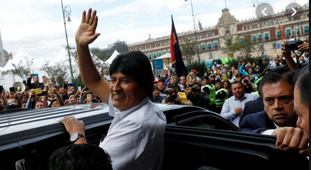 Bolivians Rally for Evo Morales to Return