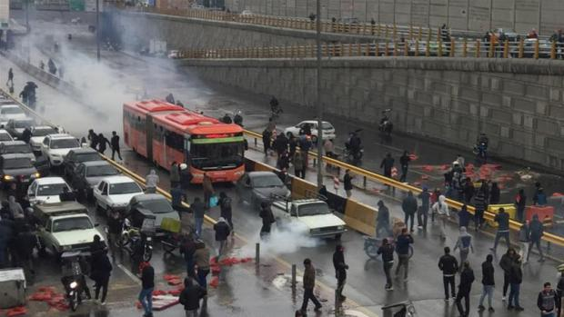 Orchestrated Violence, Vandalism and Chaos by Hooligans in Iran