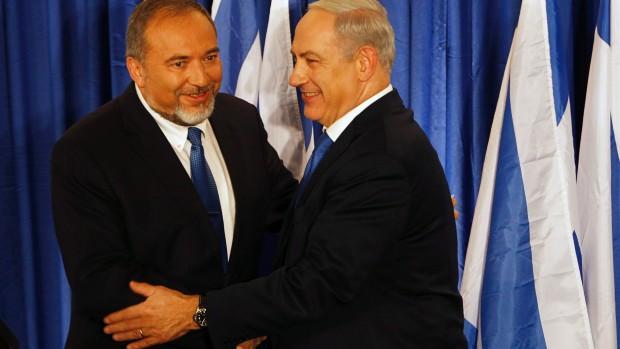 Lieberman - Netanyahu