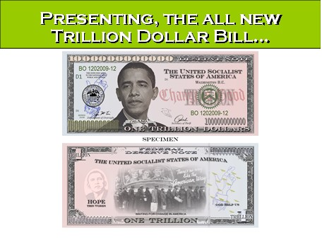 One Billion 1 000 Bucks Buck Dollars Dollar Denomination Bill Federal Reserve Fraud