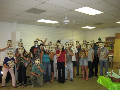 V masks