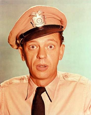 barney fife Phoenix finest voluntary police officer dorman