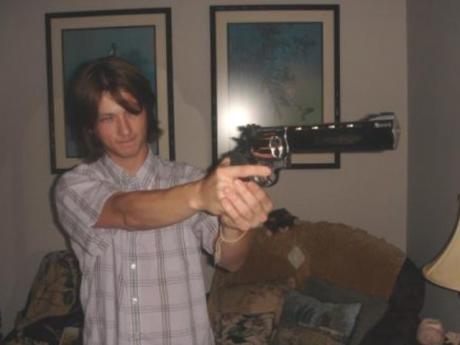 RON PAUL 4409 -- I'll shove this GUN down your throat!