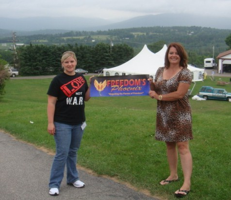 The r3VOLution  travels to Porcfest in New Hampshire to share the LOV3
