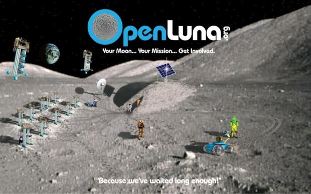 OpenLuna Mission - Returning Mankind to the Moon Through Private Enterprise