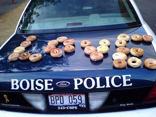 The LOV3 Police