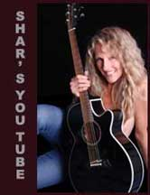 Sharlene Holt Publishes Music Videos & News at Her You Tube Channel