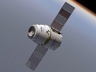 SpaceX 3rd launch to space station successful, but problem with capsule