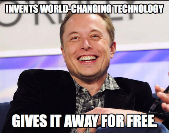 With Patent Giveaway Tesla Shows Silicon Valley What Freedoms Phoenix