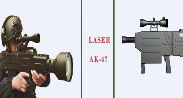 China Allegedly Builds 'Laser AK-47' That Burns Through