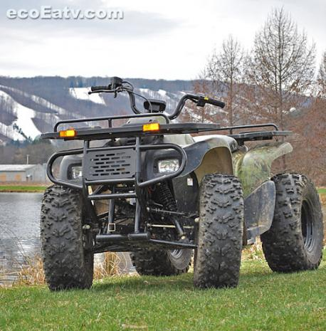 Electric All Terrain Vehicle The E Force Atv