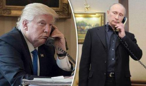 Image result for trump calls putin