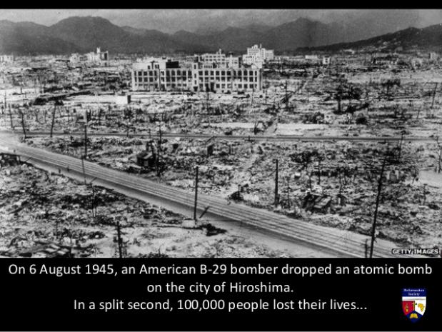 can the bombing of hiroshima and nagasaki be justified Truman was justified in using the atomic bomb on the japanese cities of hiroshima and nagasaki an invasion would have caused even more deaths than the atomic bombs did it was predicted.