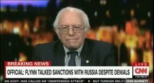 WATCH: CNN Cuts Off Bernie Sanders on LIVE TV for Calling CNN Fake News