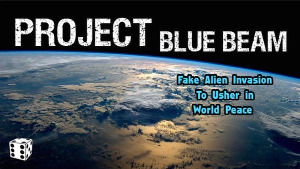 This was the goal of the deep state new world order. Project Blue Beam. NASA.