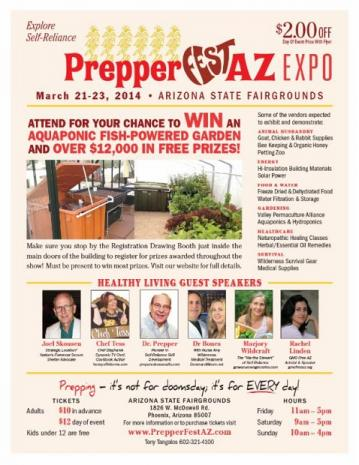 PrepperFestAZ - March 21-23, 2014