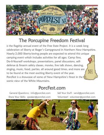 PorcFest 2014 - June 22nd thru 29th - Roger's Campground - Lancaster, NH