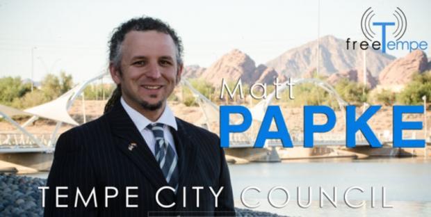 Chief Tranter Endorses Matt Papke for Tempe City Council