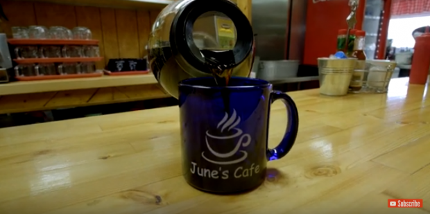 For those of you who went to June's Cafe in Heber, AZ while at Jackalope Freedom Festival...